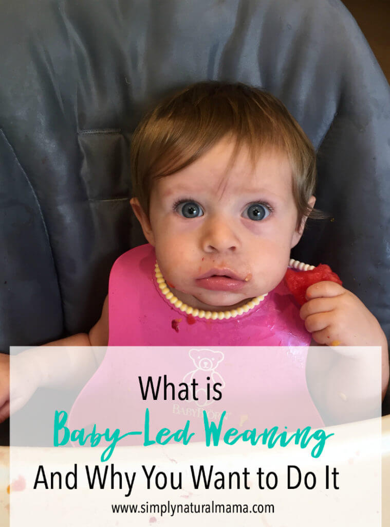 I had no idea what baby-led weaning was before this article. It made me really want to make sure we do it the third time around! Saving this pin...