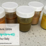 All Natural, Edible Fall Fingerpaints