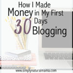 Income Report: How I Made Money in My First 30 Days
