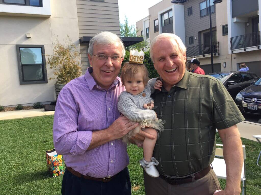 Baby J and her two grandpas