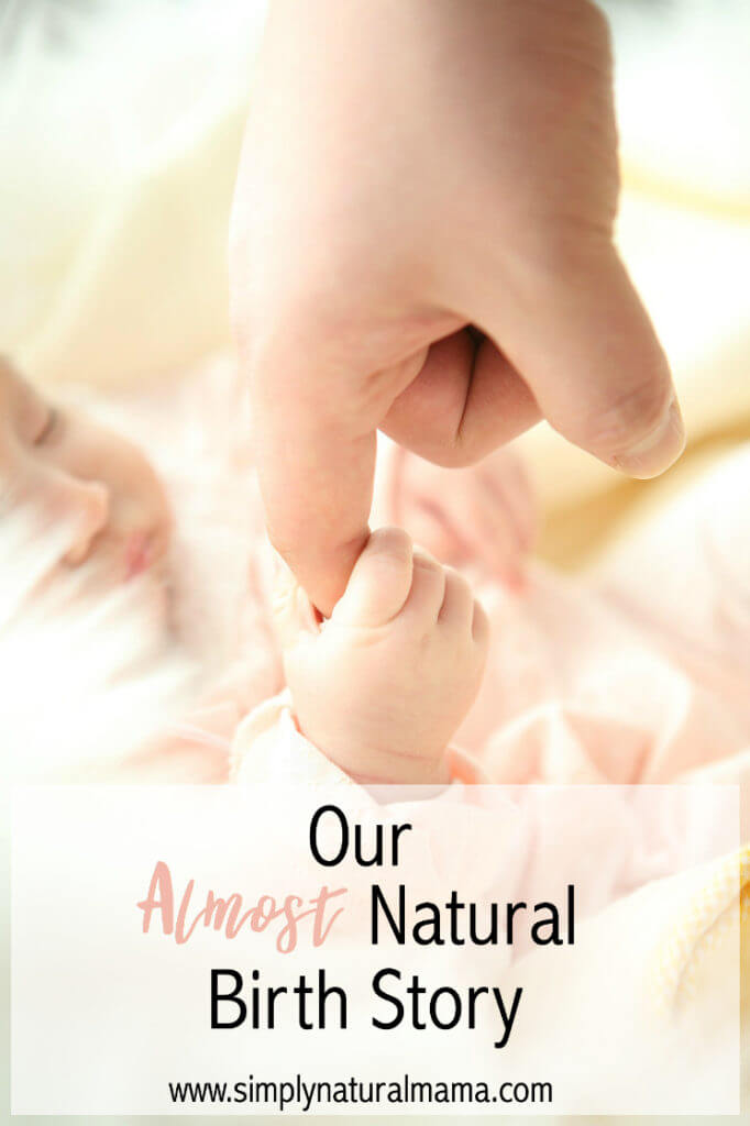 I loved this birth story! It was very vulnerable and real. Thanks for sharing!