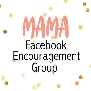 Facebook Encouragement Group for Simply Natural Mama followers