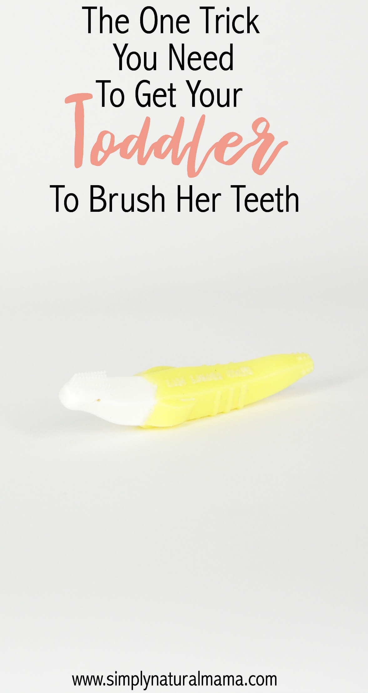 I have really been struggling to get my child to brush his teeth. I am so thankful that I read this article. This trick really did work!