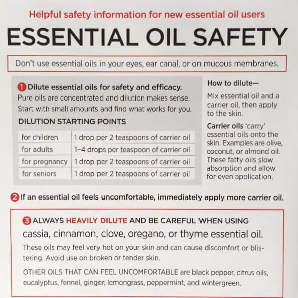 photo about Essential Oils Chart Printable called 8 Should-Comprise Charts towards Crank out Yourself an Vital Oil Consultant