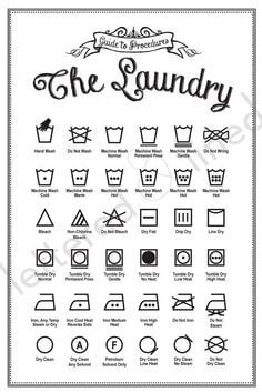 cleaning charts guaranteed to make you an expert laundry procedures