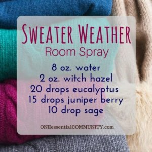 Sweater Weather Room Spray