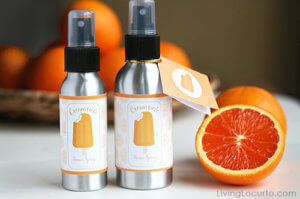 orange creamsicle room spray